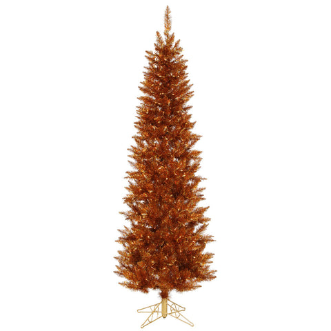 10' Vickerman A105686 Copper Spruce - Copper Christmas Tree - Peazz.com