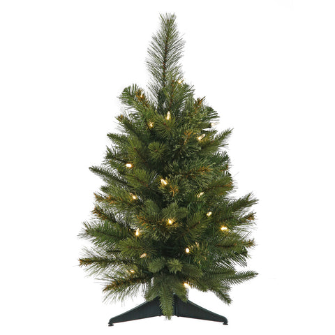 2' Vickerman A118525LED Cashmere Pine - Green Christmas Tree - Peazz.com