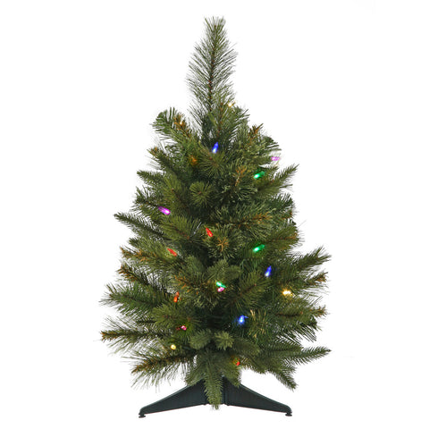 2' Vickerman A118526LED Cashmere Pine - Green Christmas Tree - Peazz.com