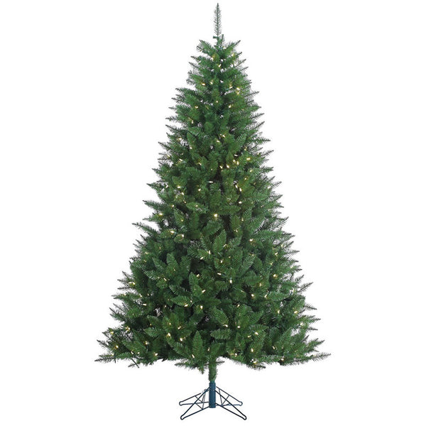 """Does Lowes Sell Christmas Trees: Vickerman A134276LED 7.5' X 52"""" Lincoln Fir 1176T 500WmWh LED"""