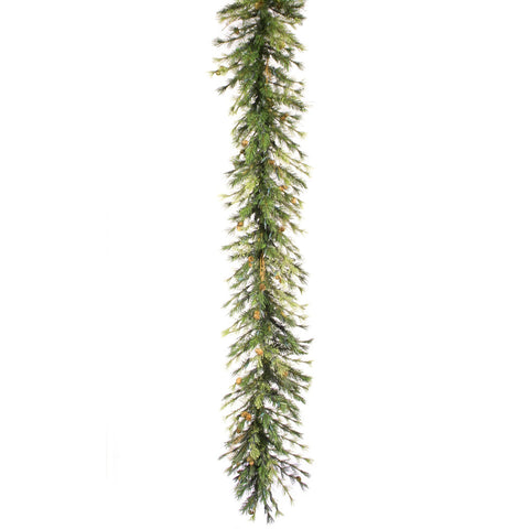 1.3' Vickerman A801716 Mixed Country Pine - Green - Peazz.com