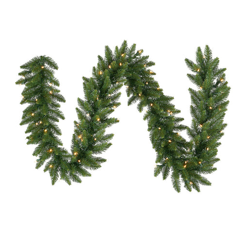 1.7' Vickerman A861124LED Camdon Fir - Green - Peazz.com