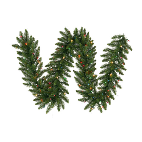 1.7' Vickerman A861125LED Camdon Fir - Green - Peazz.com