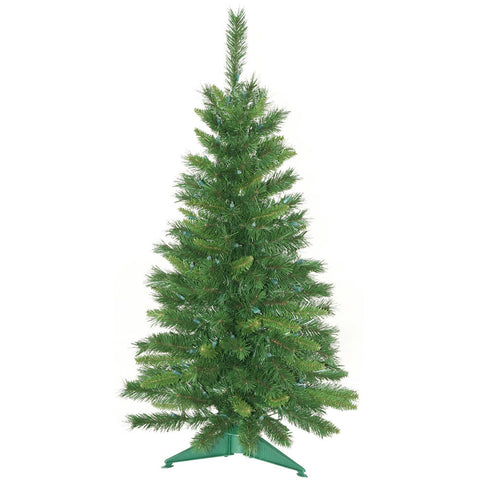 3.5' Vickerman A877140 Imperial Pine - Green Christmas Tree - Peazz.com