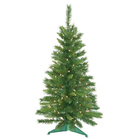 3.5' Vickerman A877141 Imperial Pine - Green Christmas Tree - Peazz.com