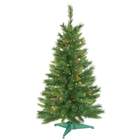 3.5' Vickerman A877142 Imperial Pine - Green Christmas Tree - Peazz.com