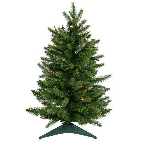 2' Vickerman A890726 Frasier Fir - Green Christmas Tree - Peazz.com