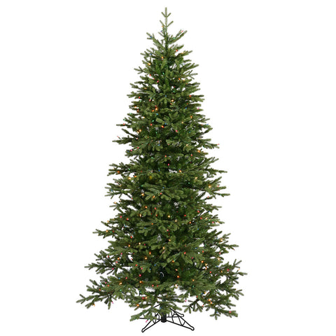 7.5' Vickerman A896177 Balsam Fir - Green Christmas Tree - Peazz.com