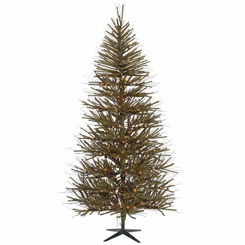 4' Vickerman B107646 Vienna Twig - Brown, Green - Peazz.com