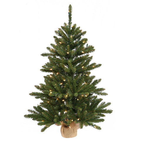 3' Vickerman B110437 Anoka Pine - Green Christmas Tree - Peazz.com
