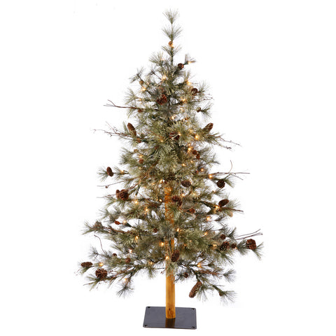 3' Vickerman B115431 Dakota Alpine - Green Christmas Tree - Peazz.com