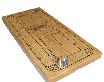 4-Player Continuous Track Cribbage Set 33504 - Peazz.com