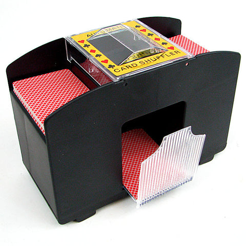 4 Deck Automatic Card Shuffler - Peazz.com