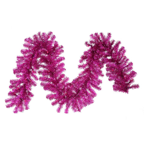 1' Vickerman B881913 Fuschia Wide Cut - Fuchsia - Peazz.com