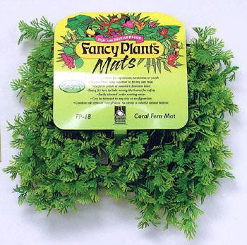 Fancy Plant Mat - Coral Fern Mat - Peazz.com