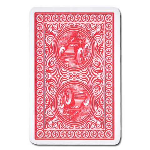 Brybelly GMOD-810 Modiano Golden Trophy Poker Playing Cards - Red - Peazz.com