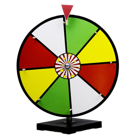 "Brybelly GPRZ-005 16"" Color Dry Erase Prize Wheel - Peazz.com"