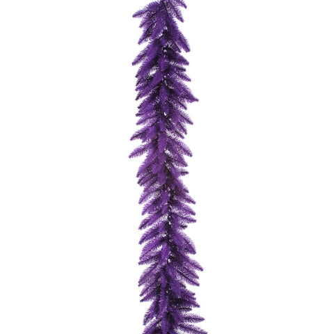 1.2' Vickerman K882915 Purple Ashley Spruce - Purple - Peazz.com