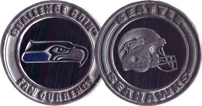 Brybelly NFL-3301 Challenge Coin Card Guard - Seattle Seahawks - Peazz.com