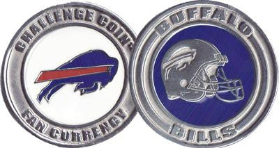 Brybelly NFL-4004 Challenge Coin Card Guard - Buffalo Bills - Peazz.com