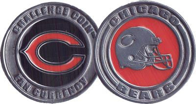 Brybelly NFL-6001 Challenge Coin Card Guard - Chicago Bears - Peazz.com