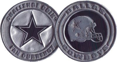 Brybelly NFL-9001 Challenge Coin Card Guard - Dallas Cowboys - Peazz.com