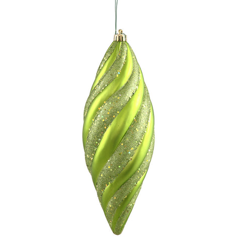 1' Vickerman N118413 Spiral Matte - Lime - Peazz.com