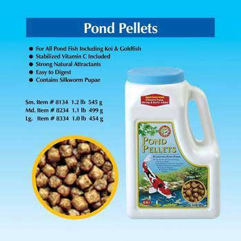 Pond Pellets Medium 1.1 Lb - Peazz.com