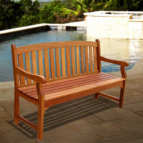 Vifah V275 Outdoor Wood Bench - Peazz.com