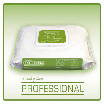 A World Of Wipes Unapd-759 Adult Incontinence Wipes (48 Wipes) Case Of 12