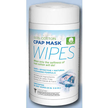A World Of Wipes Uncpap-4p Cpap Mask Wipes (62 Wipes) - 4 Pack