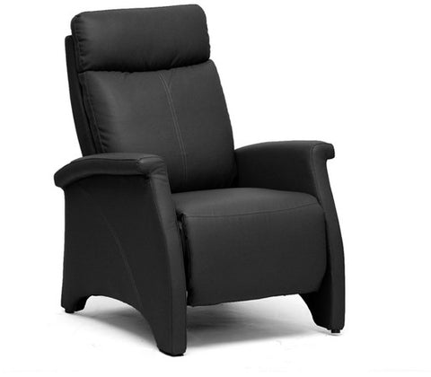 Wholesale Interiors A-060-Black Sequim Tan Modern Recliner Club Chair - Each - Peazz.com