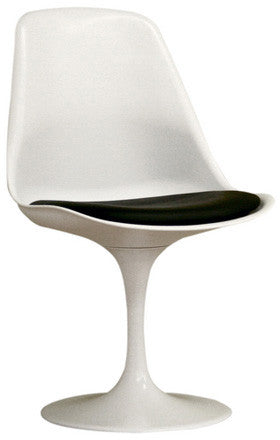 Wholesale Interiors DC-211B-white White Plastic Side Chair - Each - Peazz.com