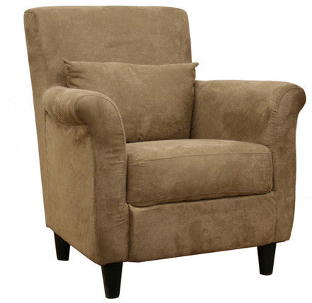Wholesale Interiors LCY-31-CC-4 Marquis Tan Microfiber Club Chair - Each - Peazz.com