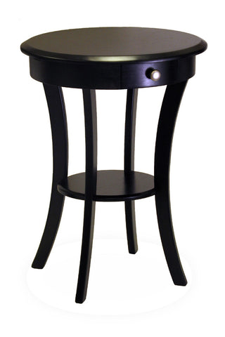 Winsome Wood Sasha Round Accent Table 20227 - Peazz.com