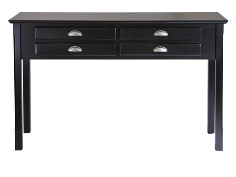 Winsome Wood 20450 Timber Hall/Console Table, drawers - Peazz.com