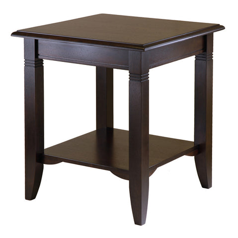 Winsome Wood 40220 Nolan End Table - Peazz.com