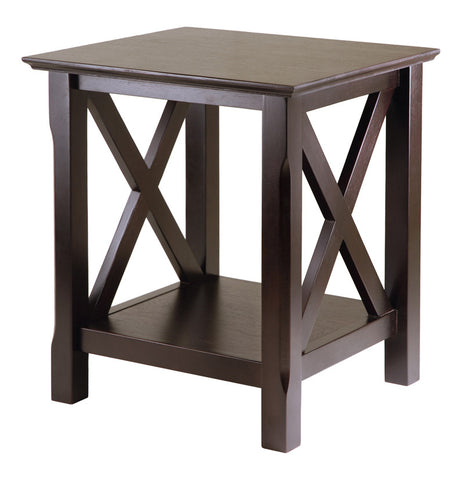 Winsome Wood 40420 Xola End Table - Peazz.com