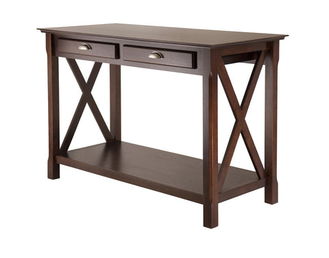 Winsome Wood 40544 Xola Console Table with 2 Drawers - Peazz.com