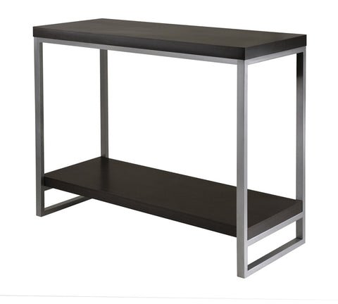 Winsome Wood 93441 Jared Console Table, Enamel Steel Tube - Peazz.com