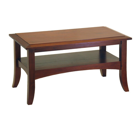 Winsome Wood 94234 Craftsman Coffee Table - Peazz.com