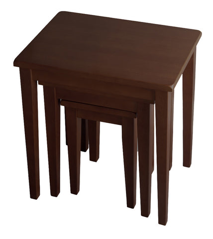 Winsome Wood 94320 Regalia 3pc Nesting Table - Peazz.com