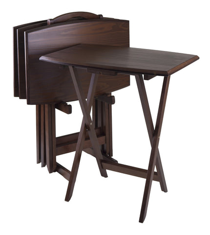 Winsome Wood 94517 5pc Oversize TV Table - Peazz.com