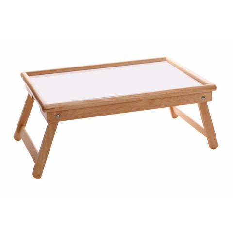 Winsome Wood 98721 Breakfast Bed Tray, Flip Top, Foldable Legs - Peazz.com