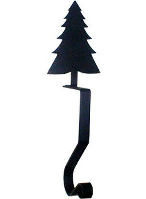 Wrought Iron Pine Tree Mantel Hook - Peazz.com
