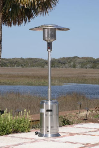 Well Traveled Living 1775 Stainless Steel Commercial Patio Heater - Peazz.com