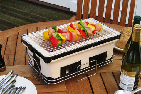 Well Traveled Living 60450 Large Yakatori Charcoal Grill - Peazz.com