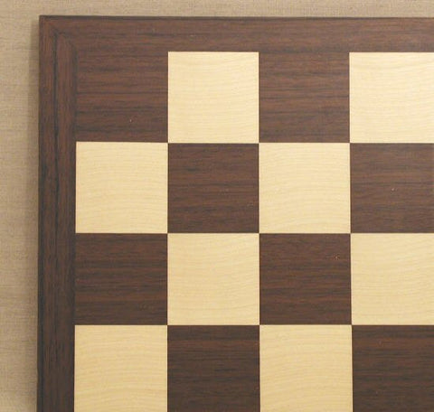 "17 3/10"" Dark Rosewood ""Montgoy""/Maple, w/ Thin Frame, 2"" Squares - Peazz.com"