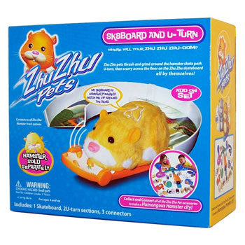 Zhu Zhu Pets Add On Accessory Set SkateBoard & U-Turn Hamster NOT Included! - Peazz.com