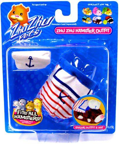 Zhu Zhu Pets Hamster Outfit - Sailor Hamster Not Included